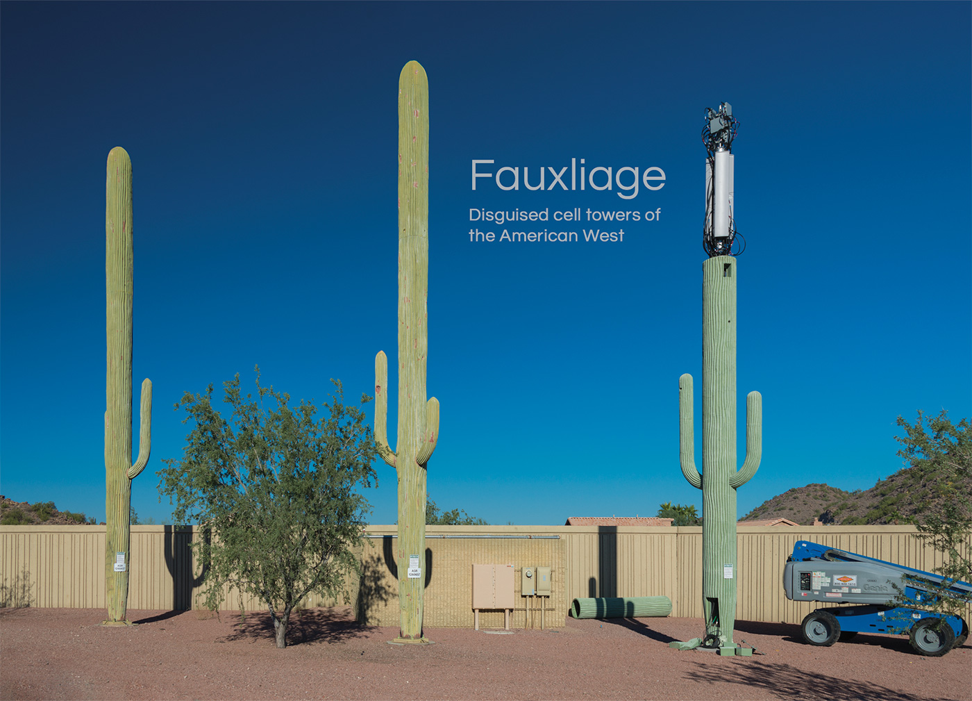 Fauxliage: Disguised cell towers of the American West